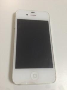 iPhone4画面割れジャンク